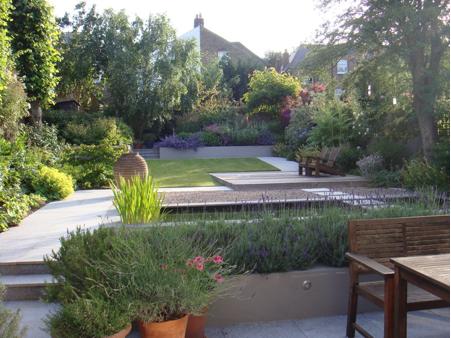 Dulwich designer shortlisted in national garden design for Open terrace garden designs