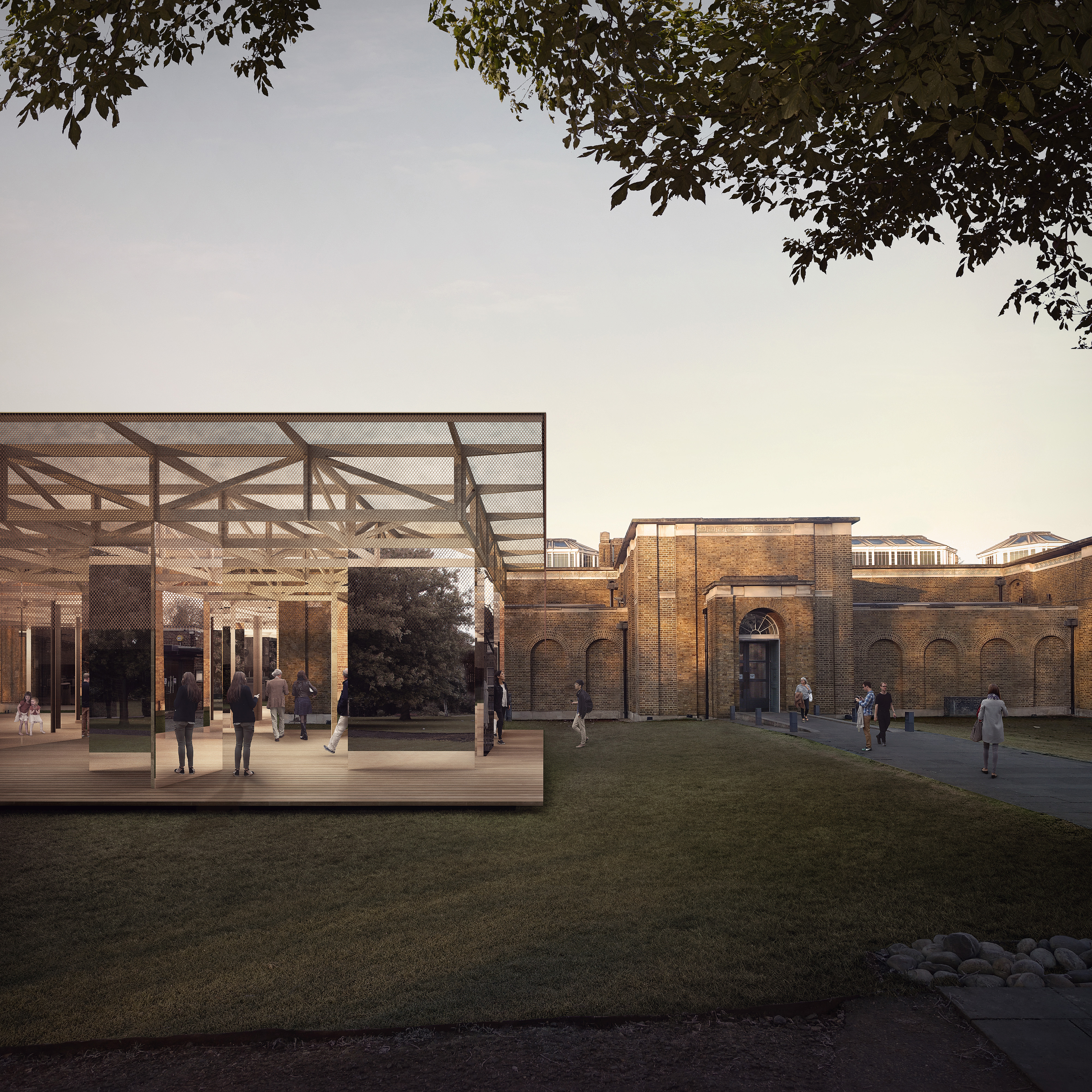If do win first dulwich pavilion design competition for Pavilion architecture design