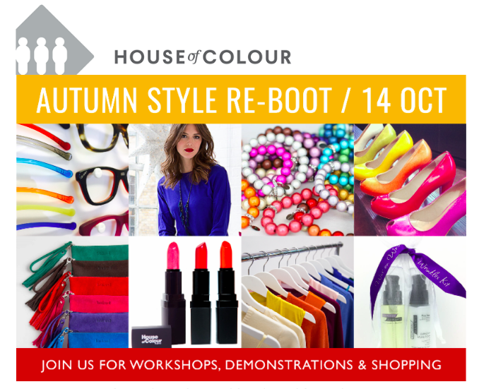 House of Colour Autumn Style Re-Boot Event