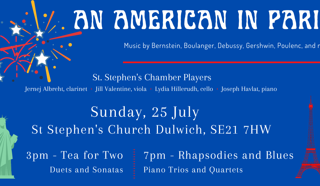 An American in Paris – Summer Chamber Music