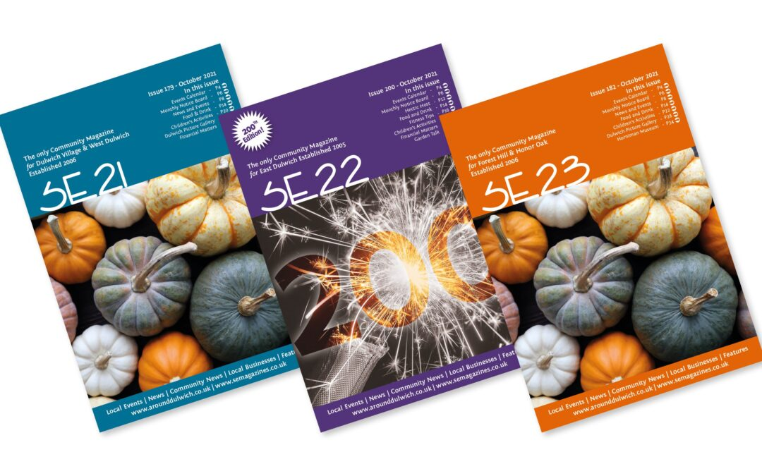 Out Today – Our October Magazines
