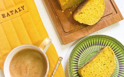 Pumpkin & Ginger Tea bread